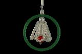 Vánoční ozdoba Zvonek v bengli