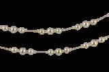 Vánoční řetěz - kulaté perle