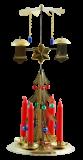 Andělské zvonění - Zvonící stromek s perličkami z Poniklé