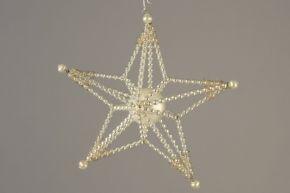Vánoční ozdoba Hvězdička