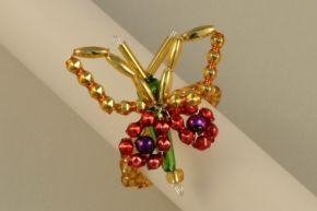 Kroužek na ubrousek - motýlek