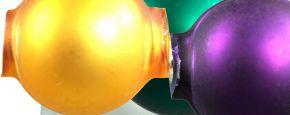 Kulatá 14 mm - matná směs ( 12 ks)