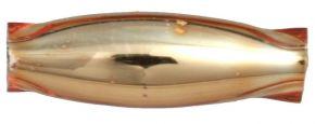 Oves 8 mm - lesk oranžová (60 ks)