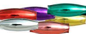 Oves 8 mm - lesk směs barev (60 ks)