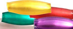 Oves 8 mm - matná směs barev (60 ks)