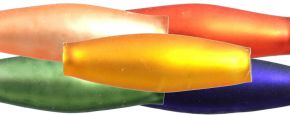 Oves 12 mm - matná směs barev (60 ks)
