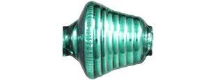 F273 Zvonek - lesk zelená (6 ks)