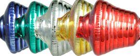 F273 Zvonek - lesk směs barev (6 ks)