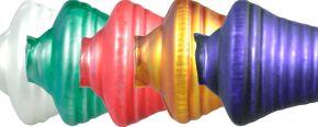 F273 Zvonek - matná směs barev (6 ks)