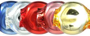 Čočka 6mm - lesk směs barev (60 ks)