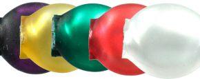 Čočka 6mm - matná směs barev (60 ks)