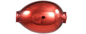 F427 Vajíčko - lesk červená (1 ks)