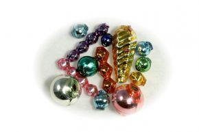 Směs perlí do 12 mm - lesk směs barev (100 ks)