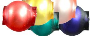 Kulatá 6 mm - mat směs barev (60 ks)