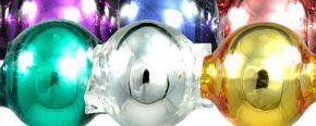 Kulatá 7 mm - lesk směs barev (60 ks)