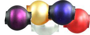 Kulatá 7 mm - mat směs barev (60 ks)