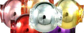 Kulatá 8 mm - lesk směs barev (60 ks)