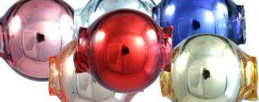 Kulatá 10 mm - lesk směs barev (30 ks)