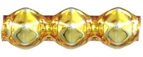 Rauta trojánek 5 mm - lesk žlutá (30 ks)