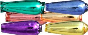 Hruška F282, 16 mm - lesk směs barev (30 ks)