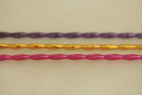 Ječmen - lesk směs barev (12 ks, 9 perlí na klaučeti)