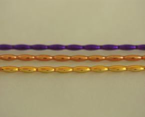Oves 8 mm - lesk směs barev (12 ks, 13 perlí na klaučeti)