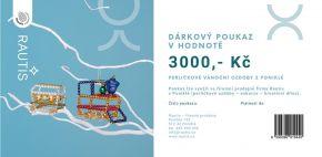 Dárkový poukaz - 3000