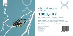 Dárkový poukaz - 1000