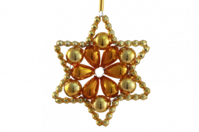 Vánoční ozdoba Hvězda Huderovka