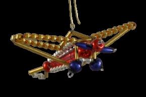 Vánoční ozdoba Letadlo