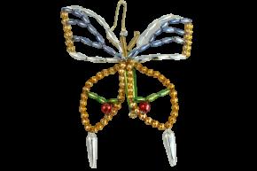 Vánoční ozdoba Motýl
