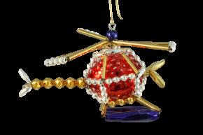 Vánoční ozdoba Vrtulník