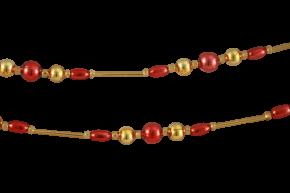 Vánoční řetěz - drobné perle