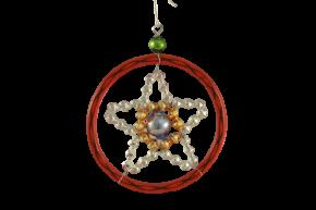 Vánoční ozdoba Hvězda v bengli