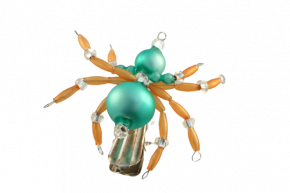 Vánoční ozdoba Pavouček na skřipci