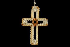 Vánoční ozdoba Křížek