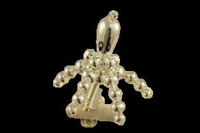 Vánoční ozdoba Chobotnice na skřipci