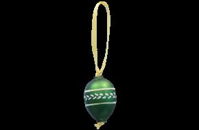 Velikonoční vajíčko s lístky