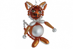 Vánoční ozdoba Liška