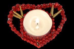 Srdce na svíčku